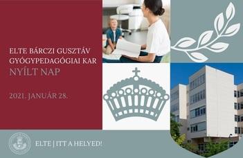 Csatlakozz, és tudj meg többet a gyógypedagógusképzésről az Online Nyílt Napunkon!
